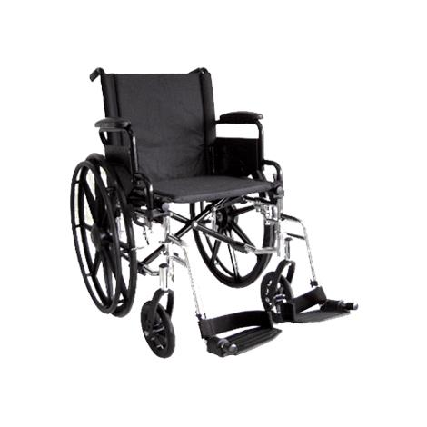 ITA-MED 18 Inch Lightweight Wheelchair with Height Adjustable Back WR18-300
