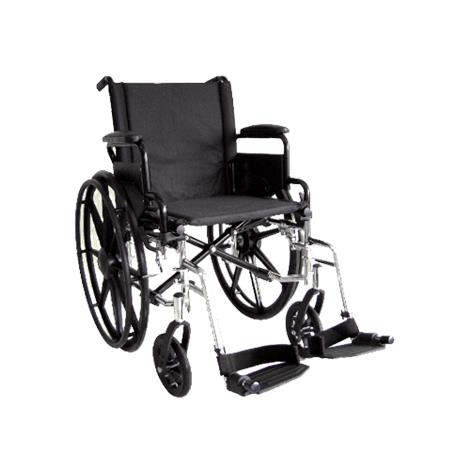 Buy ITA-MED 20 Inch Lightweight Wheelchair with Height Adjustable Back WR20-400