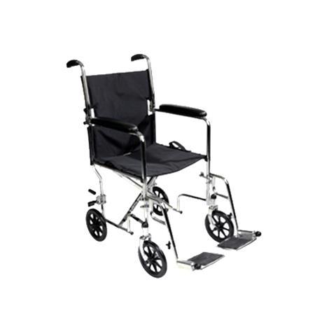 Buy ITA-MED 19 Inch Aluminum Transport Wheelchair