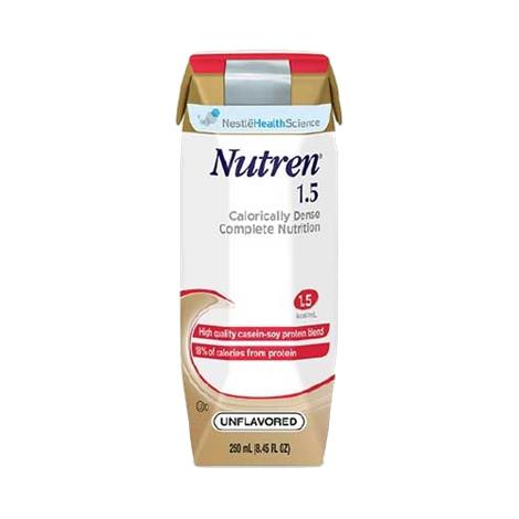 Nestle Nutren 1.5 Complete Calorically Dense Liquid Nutrition