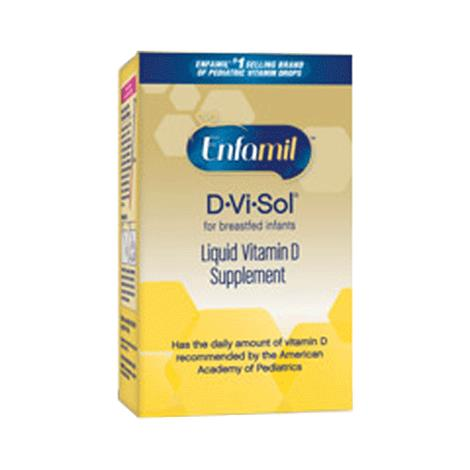 Enfamil D-Vi-Sol Vitamin D Supplement Drops for Infants