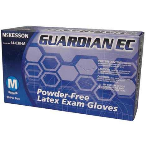 McKesson Guardian EC Powder Free Latex Exam Gloves