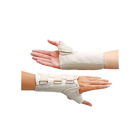 D Ring Thumb Spica And Wrist Splint
