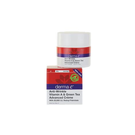 Derma E Anti Wrinkle Vitamin A And Green Tea Advanced Creme