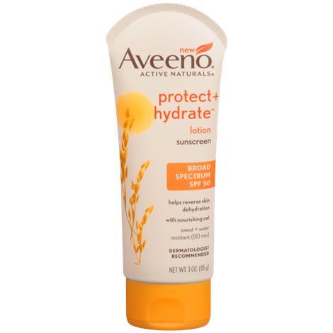 Buy Aveeno Protect + Hydrate Sunscreen Lotion
