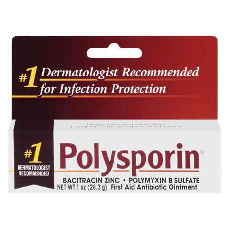 Johnson & Johnson Consumer Polysporin Bacitracin Ointment