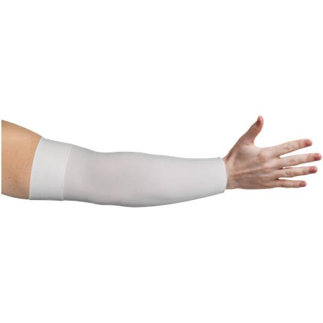 LympheDivas White Compression Arm Sleeve