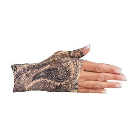 LympheDivas Black Paisley Compression Gauntlet