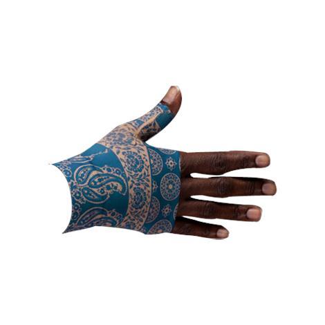 LympheDivas Blue Bandit Compression Gauntlet