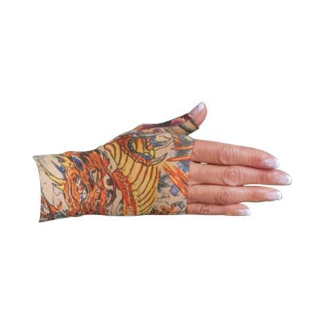 LympheDivas Lotus Dragon Tattoo Compression Gauntlet