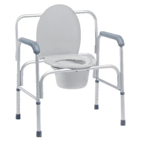 Graham-Field Lumex Bariatric Three-In-One Aluminum Commode
