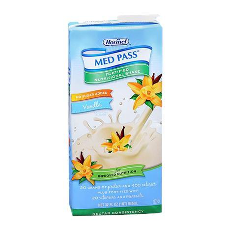 Hormel MED PASS 2.0 No Sugar Added Nutritional Vanilla Shake