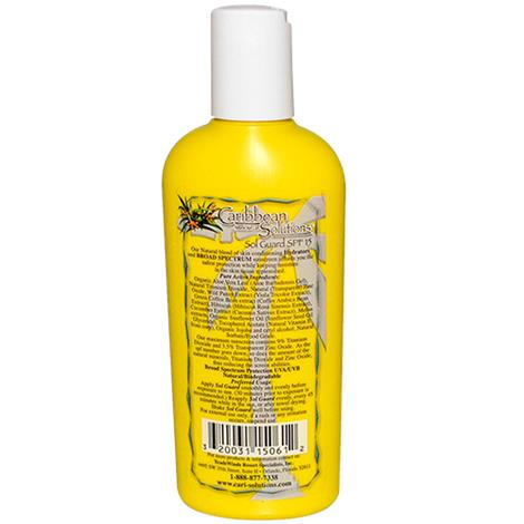 Caribbean Solutions SolGuard SPF 15 Sunscreen Lotion