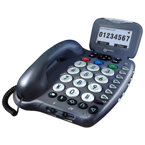 Geemarc Amplified Big Button Telephone And Answering Machine
