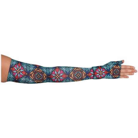 LympheDivas Tiffany Compression Arm Sleeve And Gauntlet