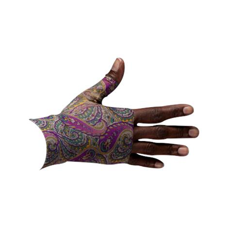 LympheDivas Purple Paisley Compression Gauntlet