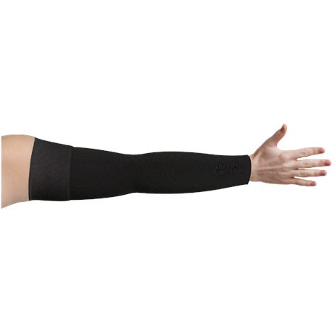 LympheDivas Onyx With Crystal Ribbon Compression Arm Sleeve