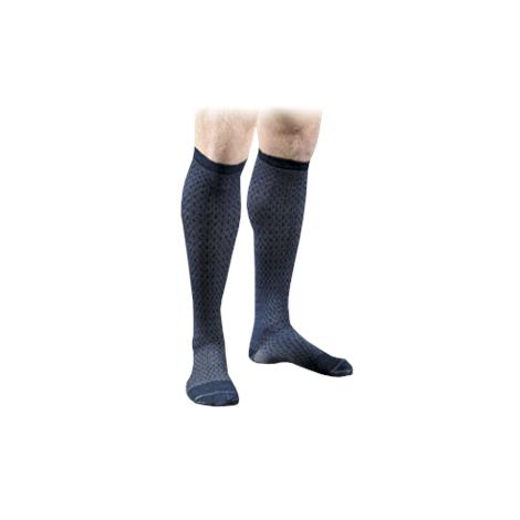 FLA Orthopedics Activa Mens Patterned 15-20mmHg Casual Socks