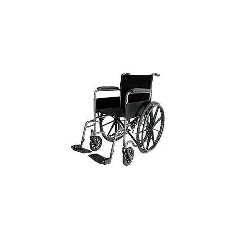Buy ITA-MED 18 Inch Standard Wheelchair with Powder Coated Frame