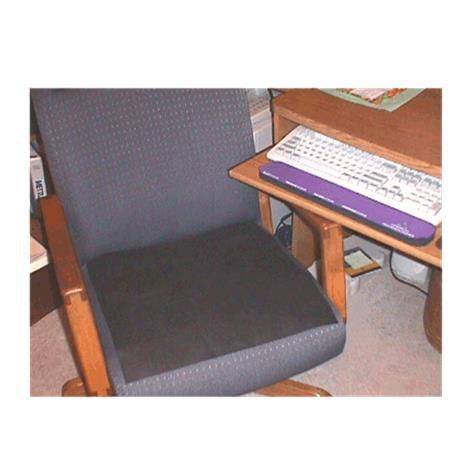Flat-D Flatulence Deodorizer Chair Pad
