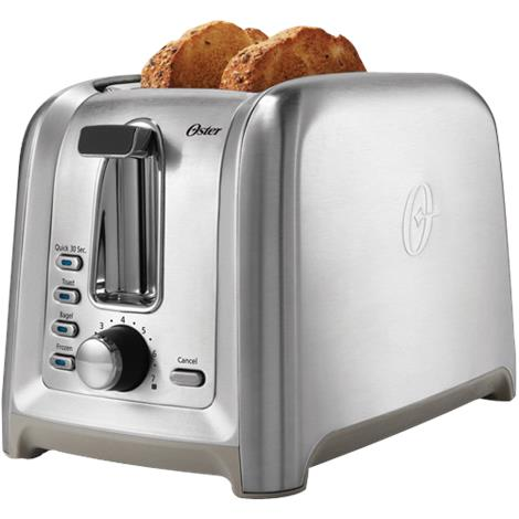 Toastmaster Stainless Steel Two Slice Toaster
