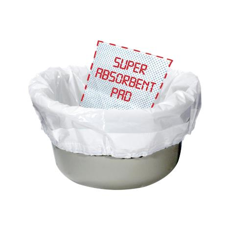 Drive Biodegradable Sanitary Bag Commode Pail Liner