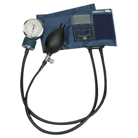 Mabis DMI PRECISION Series Aneroid Sphygmomanometer with Blue Nylon Cuff