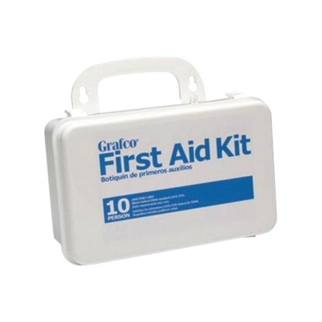 Graham-Field Stocked First Aid Kit for 10 Persons