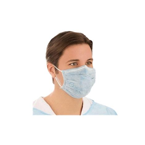 Medline Biomask Antiviral Pleated Earloop Face Mask