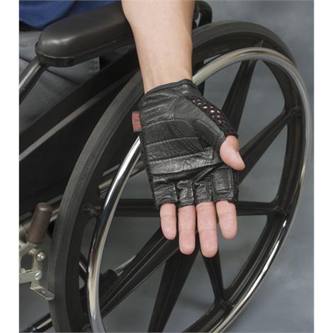 Mesh Back Gel Gloves