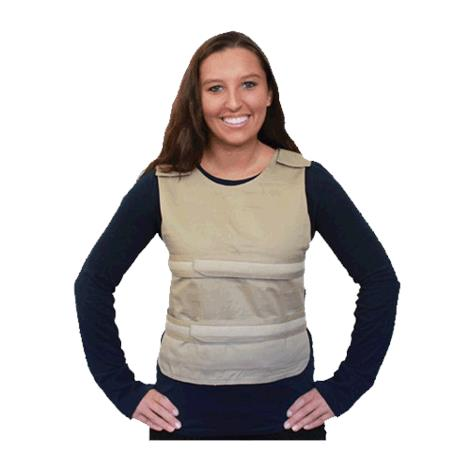 Polar Cool58 Phase Change Poncho Cooling Vest with Cool58 Phase Change Pack Strips
