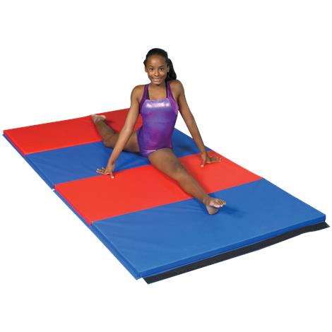 CanDo Accordion Two Inches PU Foam Exercise Mat With Cover