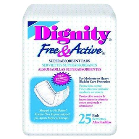 Hartmann Dignity Free and Active Super Absorbent Pads