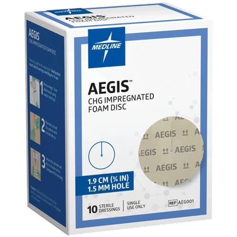Buy Medline Aegis CHG Impregnated Foam Disc
