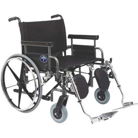 Medline Shuttle Extra-Wide Wheelchair