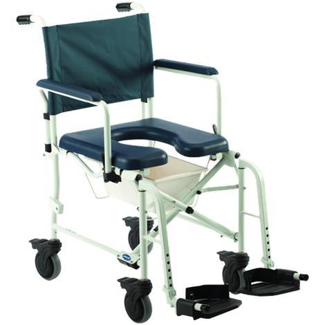 Buy Invacare Mariner Rehab Shower Commode Chair With 18 Inches Seat And 5 Inches Casters