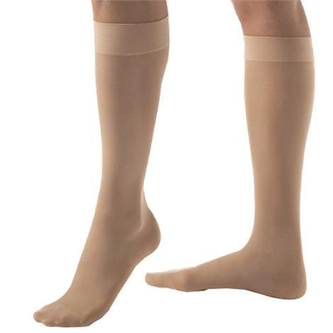 BSN Jobst Ultrasheer Large Closed Toe Knee High 20-30 mmHg Firm Compression Stockings