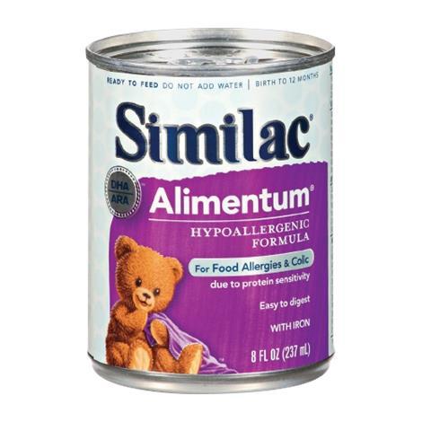 Abbott Similac Expert Care Alimentum Hypoallergenic Infant Formula with Iron
