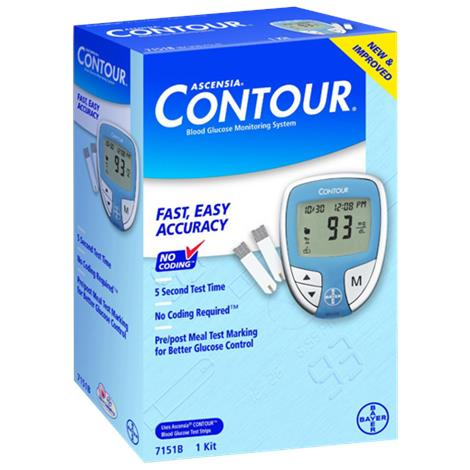 Bayer Ascensia Contour Blood Glucose Monitoring System