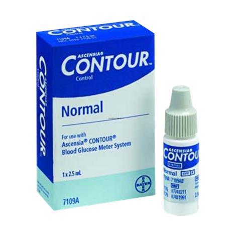 Bayer Ascensia Contour Normal Control Solution