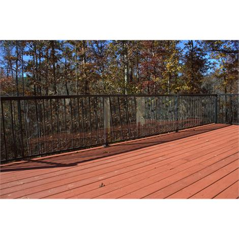 Cardinal Gates Clear Outdoor Deck Shield