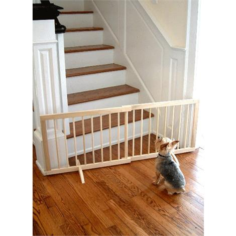 Cardinal Gates Step Over Wooden Pet Gate