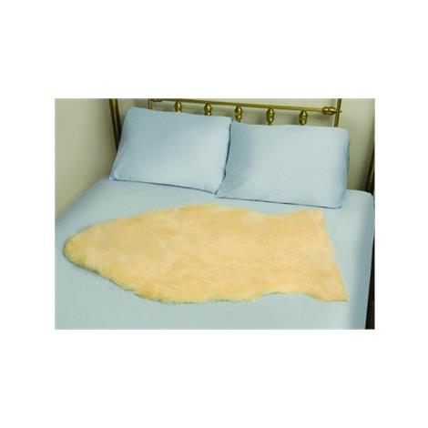 Mabis DMI Deluxe Natural Sheepskin Bed Pad
