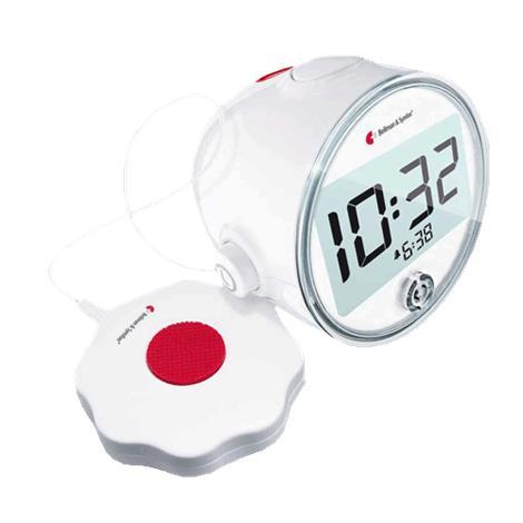 Bellman Visit Vibrating Alarm Clock