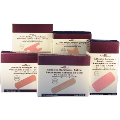 AMD Fabric Strips Adhesive Bandage