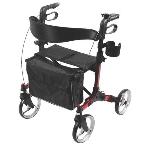 Medline Simplicity Four-Wheel Folding Rollator