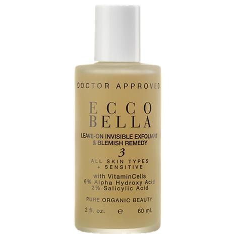 Buy Ecco Bella Natural Leave On Invisible Exfoliant And Blemish Remedy Gel