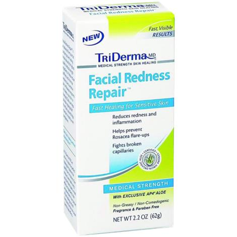 Buy TriDerma Facial Redness Repair Cream