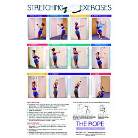 PrePak The Rope Assisted Stretching Device Poster