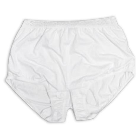 Buy Options Style 81204 Ladies Split Cotton Crotch Brief With Built-In Ostomy Support
